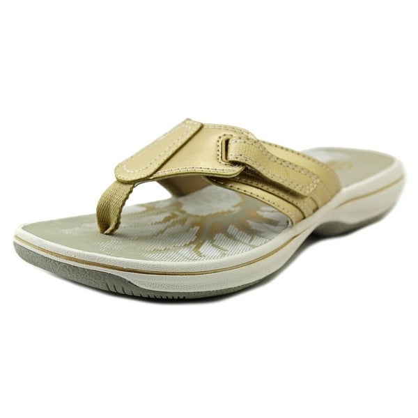 16f5c7651969e Shop Clarks Narrative Brinkley Jazz Women Gold Metallic Sandals ...