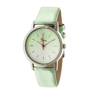 Boum Ombre Women's Quartz Watch, Genuine Leather Band