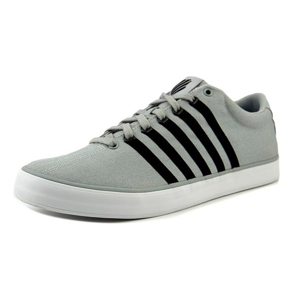 K-Swiss Court Pro Vulc Men Round Toe Canvas Gray Sneakers