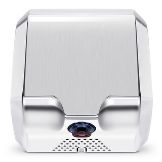 ARKSEN Heavy Duty Automatic Commercial High Speed Hand Dryer Stainless Steel for Bathroom, Low Noise 68dB, Brushed