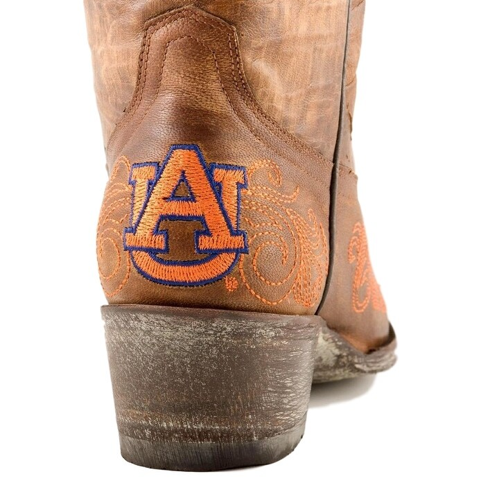 5b6cbdb757f Gameday Boots Womens College Auburn Tigers Brass Orange