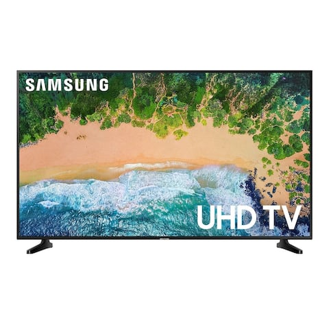 """Samsung Class NU6950 4k 65"""" Smart LED TV,Black(Certified Refurbished) - Black - 57.4 x 33 x 2.4 Inches (Without Stand)"""