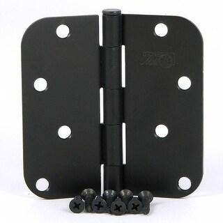 Stone Mill Hardware - Oil Rubbed Bronze 4-inch Door Hinge (Pack of 2)