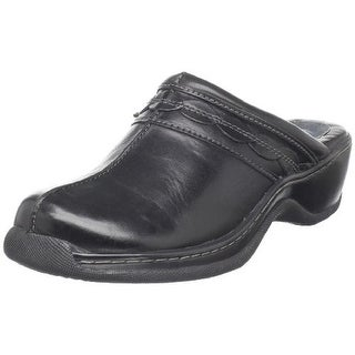 SoftWalk Womens Abby Leather Casual Clogs - 10.5 narrow (aa,n)
