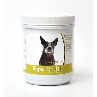 Healthy Breeds Australian Cattle Dog Dog Eye Care Support Soft Chews 75 Count