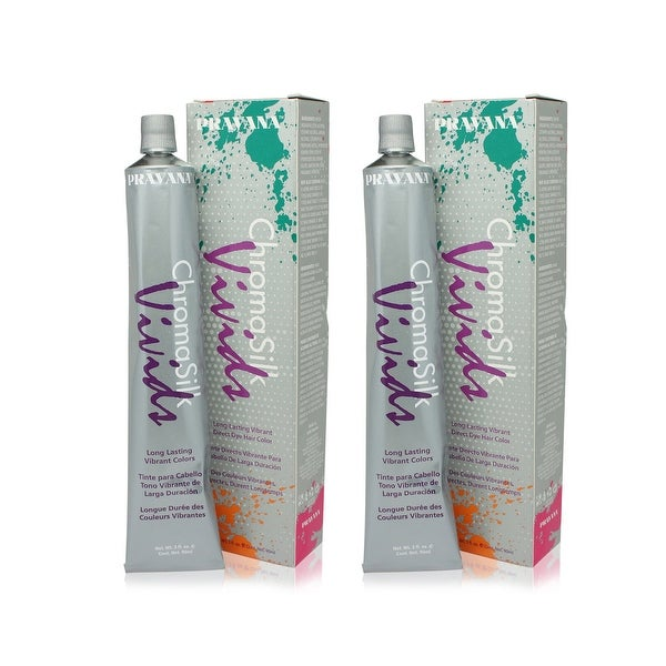 PRAVANA ChromaSilk Vivids (Magenta) 3 Fl 0z-2 Pack