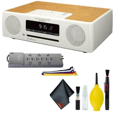 Yamaha TSX-B235 Desktop Audio System - Belkin Surge Protector - Straps