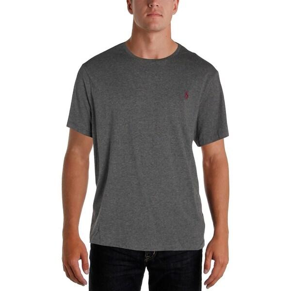 Polo Ralph Lauren Mens T Shirt Custom Fit Heathered