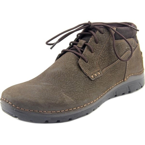 Rockport Zonecush Rcspt Pt Boot Men  Round Toe Leather Brown Boot
