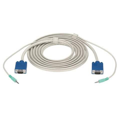 Black Box EVNPS09-0035 Black Box Premium Audio/Video Cable - 35ft - Gray