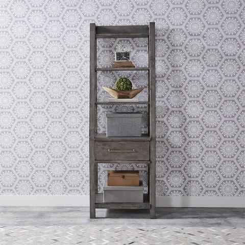 Modern Farmhouse Leaning Bookcase