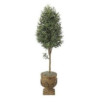 Autograph Foliages W-2921 - 6 Foot Olive Tree - Green