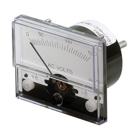 Paneltronics ac voltmeter 1 1/2 0-300vac analog