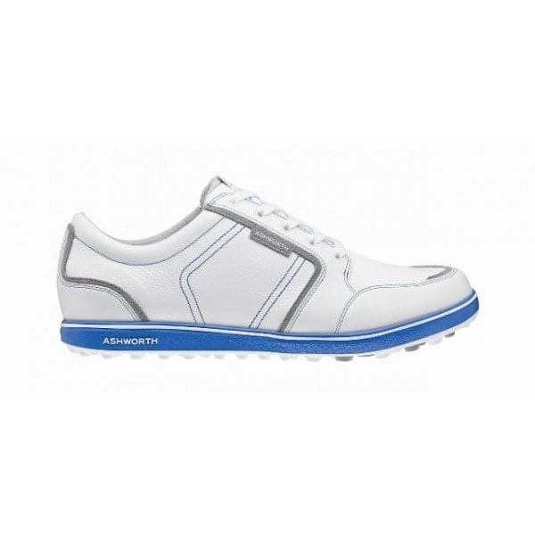 Shop Ashworth Men s Cardiff ADC Whte Grey Blue Golf Shoes G54282 ... f9c8c4602