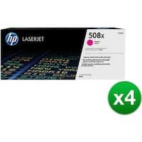 HP 508X High Yield Magenta Original LaserJet Toner Cartridge (CF363X)(4-Pack)