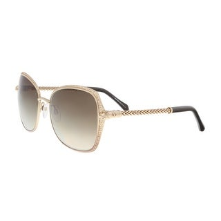 Roberto Cavalli RC977S 33G TABIT Gold Round Sunglasses - 58-19-135