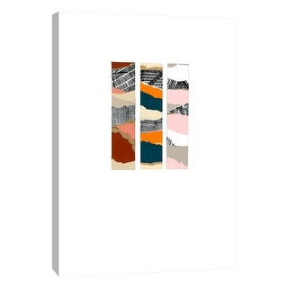 """PTM Images 9-108552  PTM Canvas Collection 10"""" x 8"""" - """"Capa Del Mundo 3"""" Giclee Abstract Art Print on Canvas"""