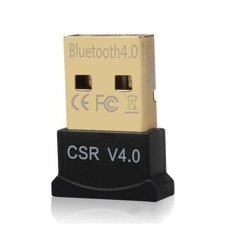 AGPtek USB Bluetooth Adapter Wireless Dongle For Laptop PC,Support  WIN 7 8 10 XP VISTA Linux