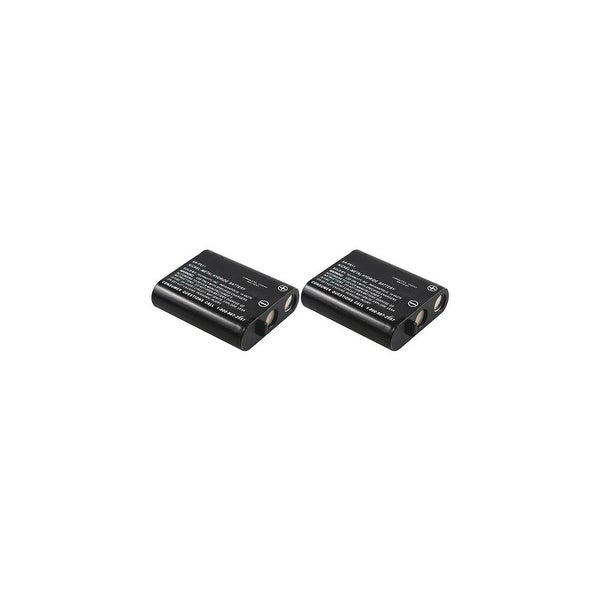 Replacement Battery For Panasonic KX-FPG371 / KX-TG2237S Phone Models (2 Pack)