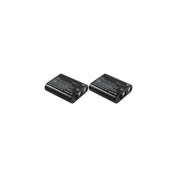 Replacement Battery For Panasonic KX-FPG376 / KX-TG2238 Phone Models (2 Pack)