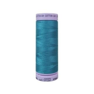 9105 0722 Mettler Silk Finish Cotton 50 164yd Glacier Blue