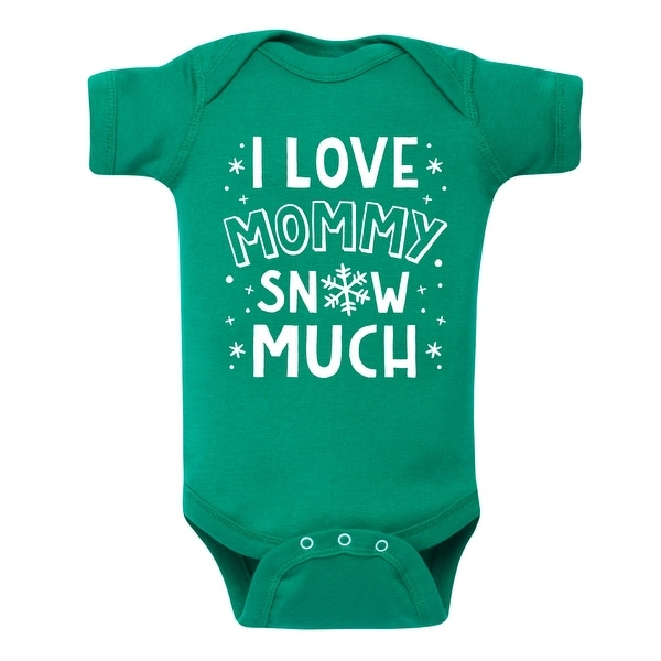 I Love Mommy Snow Much - Infant One Piece