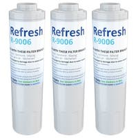 Replacement Water Filter For KitchenAid Filter 4 Refrigerator Water Filter - by Refresh (3 Pack)