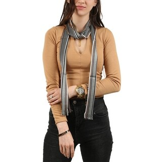 Link to Missoni  Brown/Olive Striped Scarf - 2.8-68 Similar Items in Scarves & Wraps