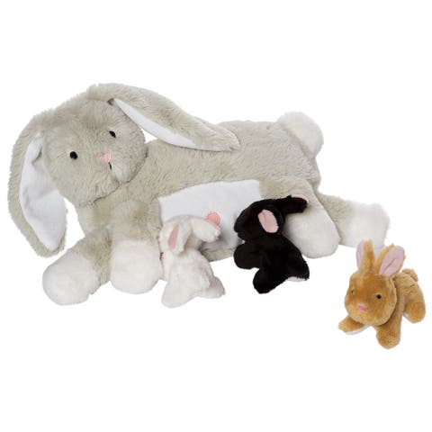 Nursing Nola Rabbit Nurturing Soft Toy