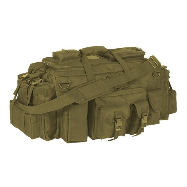Voodoo Tactical Mini Mojo Load-Out Bag MOLLE Coyote 15-9684