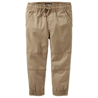 OshKosh B'gosh Little Boys' Pull-On Twill Joggers, 6 Kids