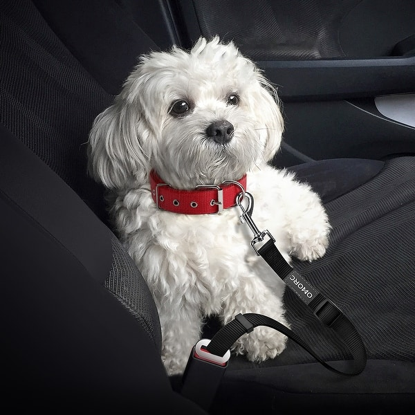 tydv Car Pet Dog Seat Belt Harness Seatbelt Lead Leash For Dogs Travel Clip Dogs Car Seat Belt Safety Lever Auto Traction