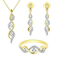Prism Jewel Round Brilliant Cut G-H/SI1 Natural Diamond Earring, Ring, Pendant or Set