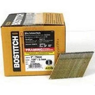 "Bostitch S10DRGAL-FH Galvanized Ring Shank Stick Nails, 10D x 3"""