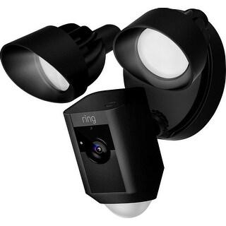 Ring Floodlight Camera Black