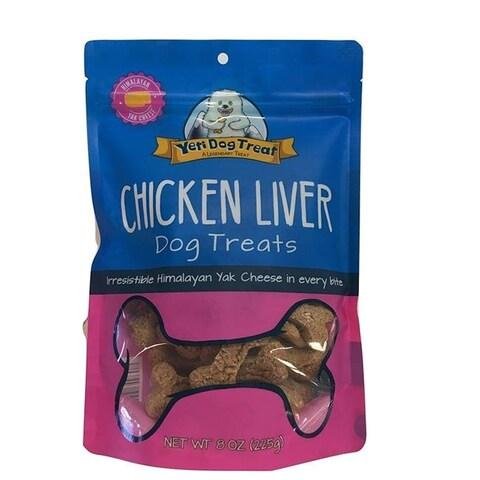 Yeti YT64960 8 oz Chicken Liver Dog Treats