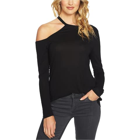 1.State Womens One-Shoulder Graphic T-Shirt