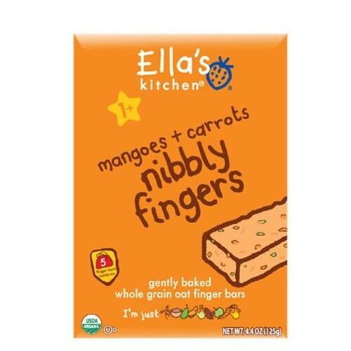 Ella's Kitchen - Mangoes & Carrots Nibbly Fingers ( 12 - 4.4 OZ)