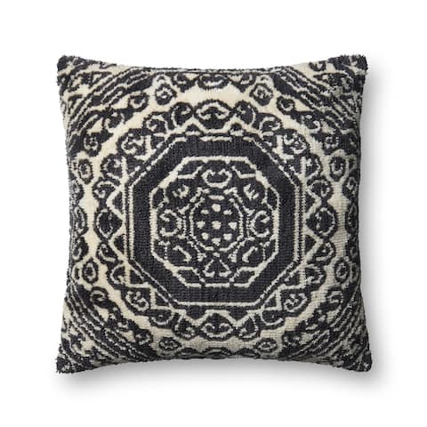 Alexander Home Moroccan Geometric Medallion Throw Pillow
