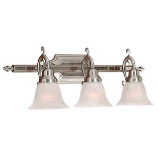 Millennium Lighting 373 3 Light Bathroom Vanity Light - satin nickel