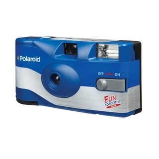 Polaroid POL-FS73 Single Use Disposable Camera With Flash, 400 Speed