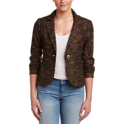 Nanette Lepore Mystery Train Wool-Blend Jacket
