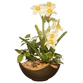 "9"" Potted Narcissus Plant - N/A"