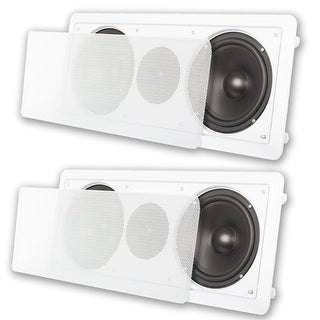 "Acoustic Audio CC6 In-Wall 6.5"" Center Channel Speaker In Ceiling 600W 2CC6"