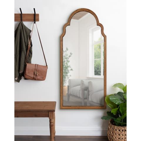 Kate and Laurel Hogan Arch Framed Mirror