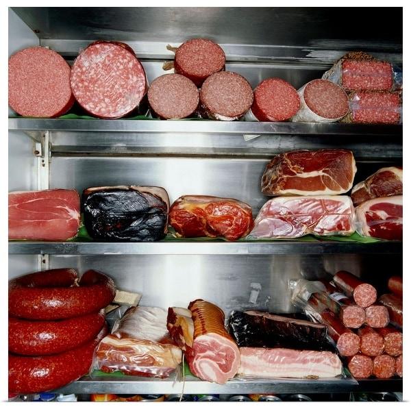 """Delicatessen Meat"" Poster Print"