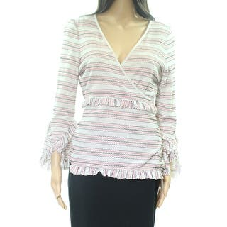 0ee2fda882872 Max Studio Women s Medium Floral Eyelet Embroidered Top. SALE. Quick View