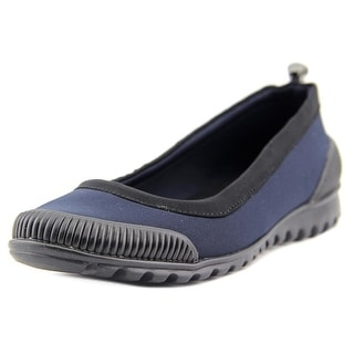 Kenneth Cole Reaction Water Slide Women Round Toe Synthetic Blue Flats