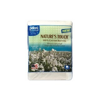 Pellon Batting Nature's Touch Cotton Queen Nat