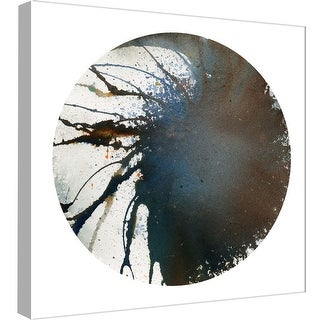"PTM Images 9-97870  PTM Canvas Collection 12"" x 12"" - ""Spin Art 9"" Giclee Abstract Art Print on Canvas"